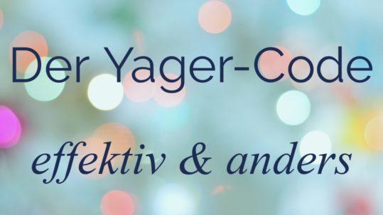 Yager-Code, Unterbewusstsein, Überbewusstsein, Ängste, Blockade